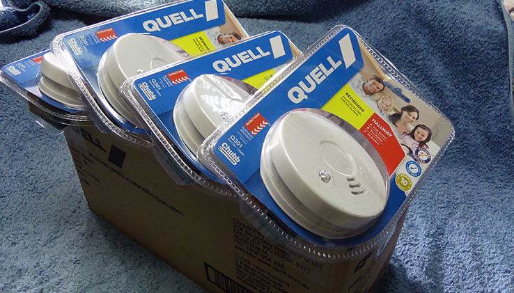 Quell smoke alarms