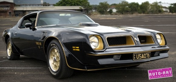 1976 Pontiac Trans Am Road test