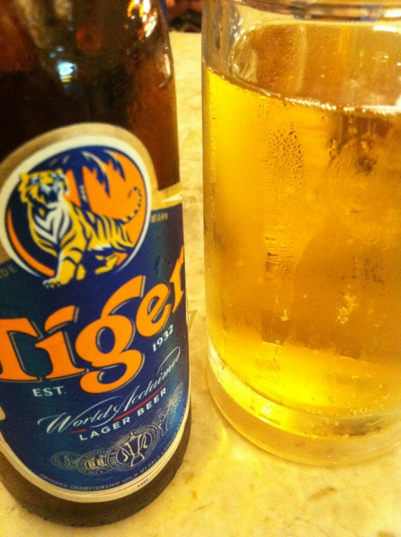 special picture beer tiger № 61
