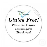 buy these gluten free stickers at Zazzle.ca